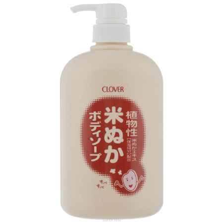 Купить Clover Увлажняющее жидкое мыло для тела с экстрактом риса 800мл