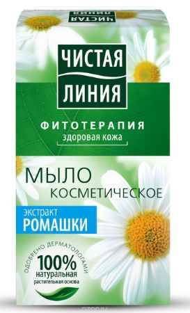 Купить Чистая Линия Фитотерапия Твердое мыло Экстракт ромашки 80 гр
