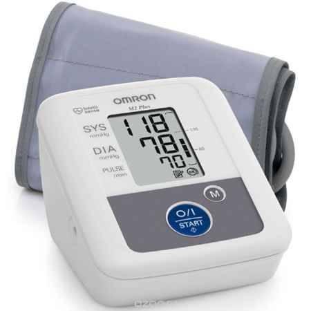 Купить Omron M2 Plus тонометр + адаптер + универсальная манжета HEM-7119-ARU