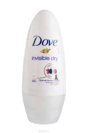 Купить Dove Антиперспирант ролл Невидимый 50 мл