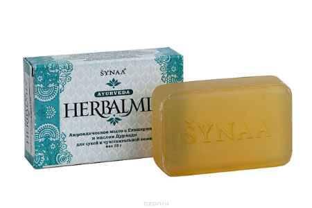 Купить Herbalmix мыло твердое с Глицерином и маслом Дурвади, 75 г