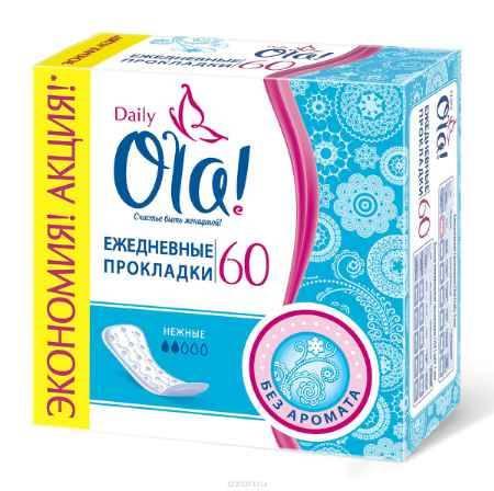 Купить Ola! Daily Прокладки, 60 шт