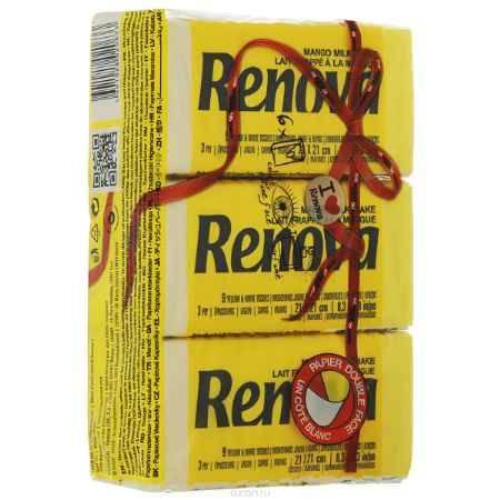 Купить Платочки бумажные 40*6 Renova Red Label Mango Yellow