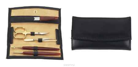 Купить Janeke Маникюрный набор Janeke, сталь Solingen, футляр черный, А1522 NER.