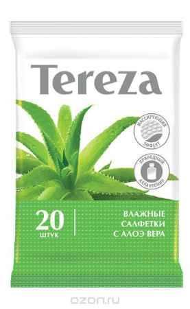 Купить Tereza, Влажные очищающие салфетки 20 шт
