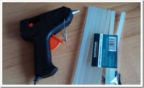 Применения клеевого пистолета