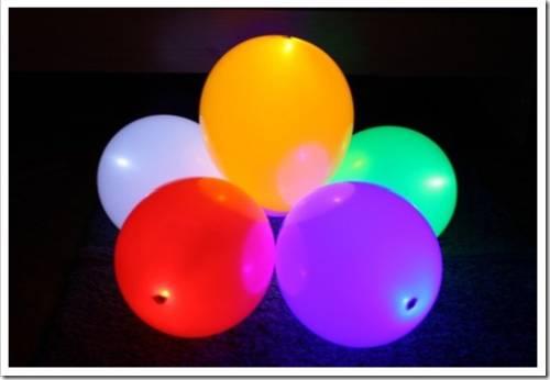 Надуваем шары – создаём украшения