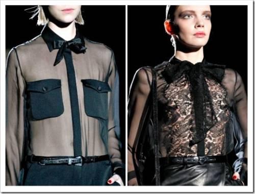 Дополняем блузки: с чем их носить?