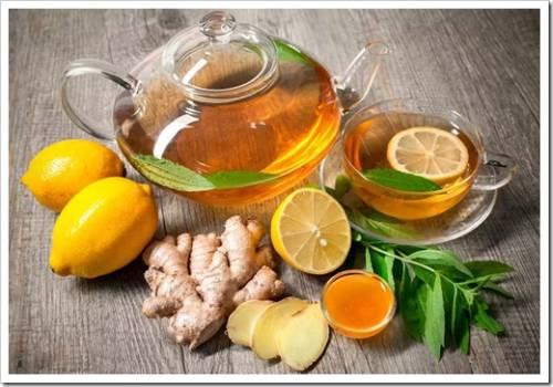 Как пить имбирный чай?