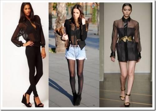 Выбор фасона блузок и материалов