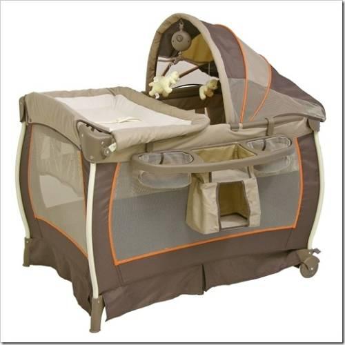 Переносной манеж и кровать-трансформер