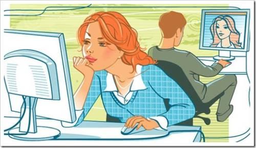 Некоторые преимущества знакомства через интернет