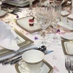 Виды столовой посуды и приборов
