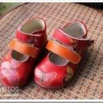 Как обновить детские туфли?