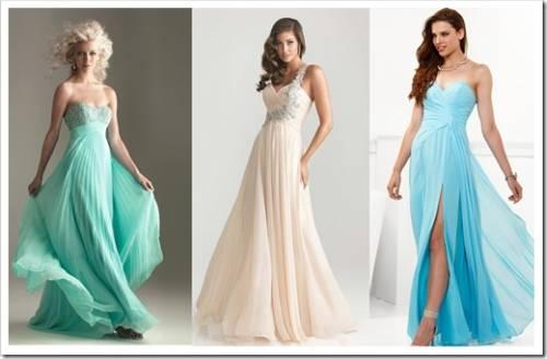 Стильные платья для выпускниц