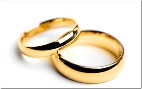 Гладкие обручальные кольца и не очень