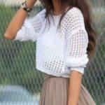 С чем носить женский джемпер
