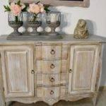 Как покрасить деревянную мебель в стиле прованс