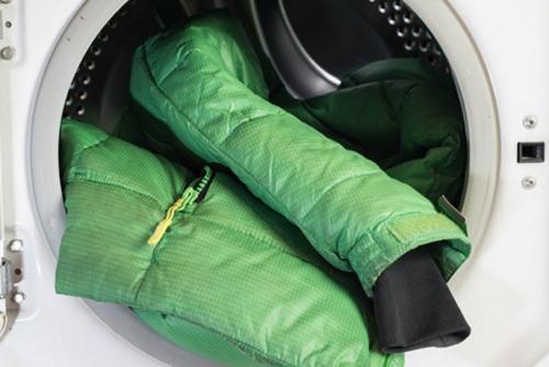 как постирать зимнюю куртку