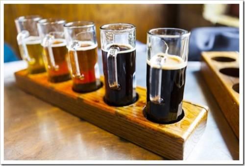 Основные виды крафтового пива