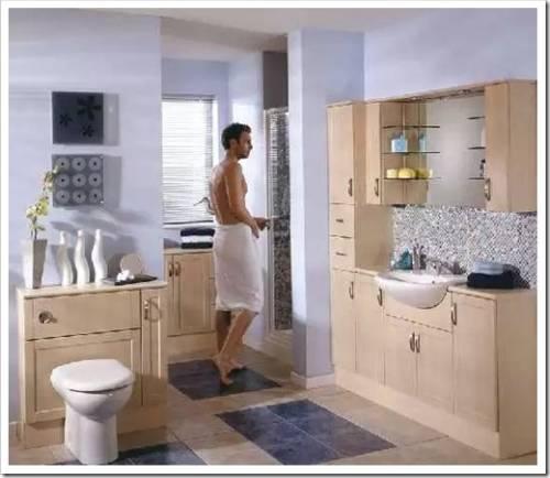 Конструкция мебели для ванной комнаты