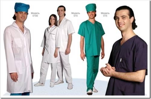 Комплектация униформы  для хирургов