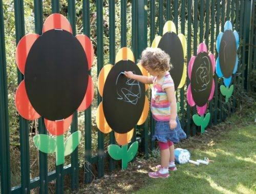 Детские площадки оформление своими руками