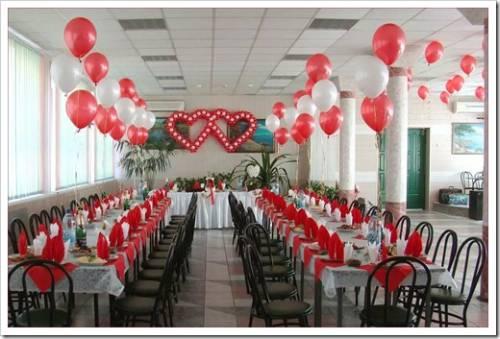 Светящиеся шары на свадьбу