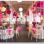 Как самой украсить зал на свадьбу?