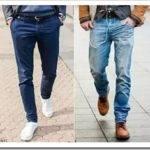 Виды мужских брюк?
