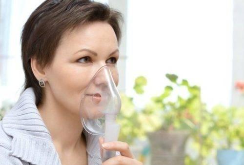как дышать небулайзером