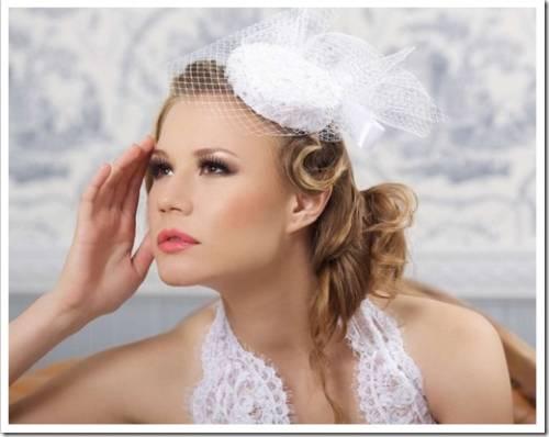Шляпка невесты как альтернатива фате