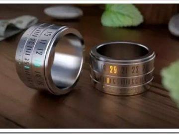 Различные способы ношения кольца на руке