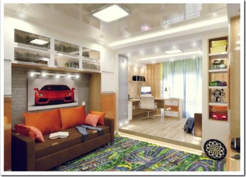 Приблизительные расценки на разработку дизайн-проекта одной комнаты