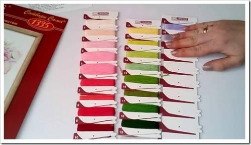 комплект наборов для вышивания