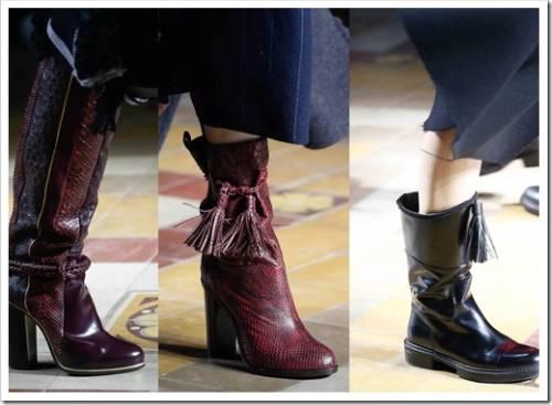Модная обувь на осень-весну