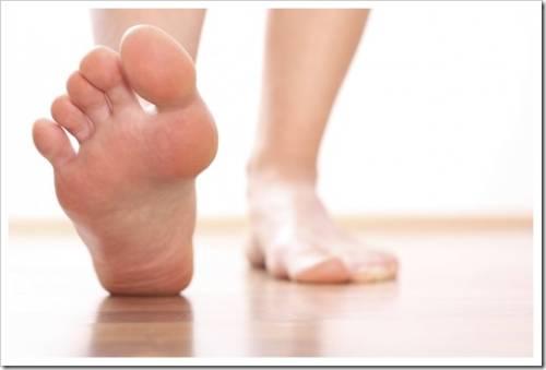 Разновидности мази от потливости и запаха ног