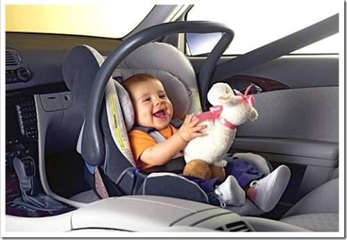 Перевозка детей в частном автомобиле
