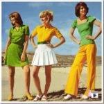 Тенденции моды 60-х и наши дни.