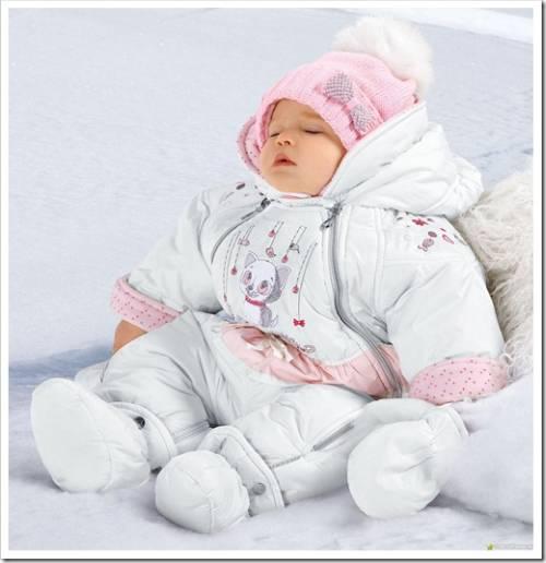 Большие отрицательные температуры: как не застудить ребёнка
