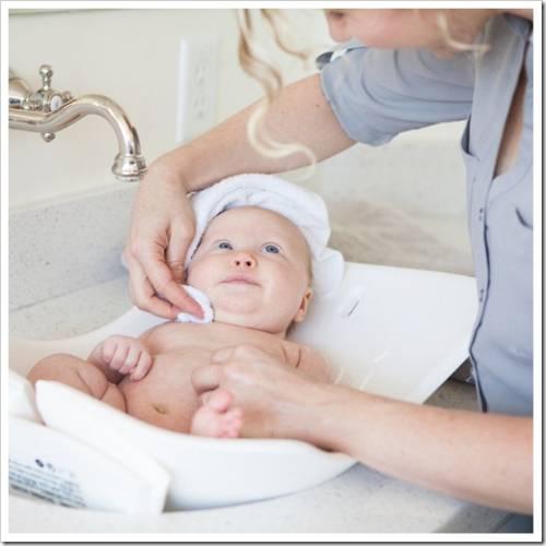 Хранение детской ванночки