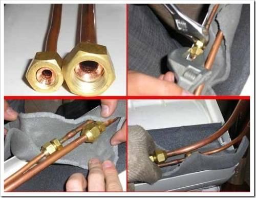 Медная труба для кондиционера