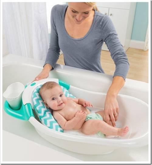Нужно ли мыть детскую ванночку после купания