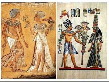 Цветы в Древнем Египте
