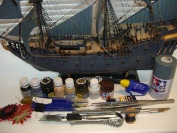 Как красить модели кораблей