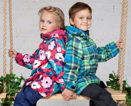 Как выбрать демисезонную куртку для ребенка