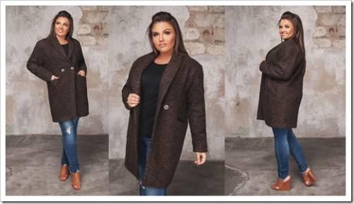 Осенние пальто больших размеров