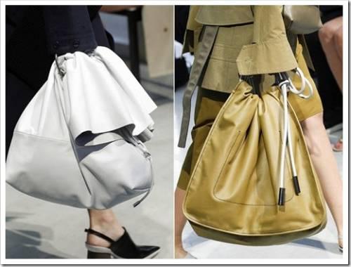 Геометрические формы в сумках