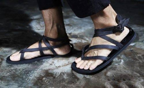 Виды мужской летней обуви