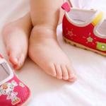 Как выбрать обувь ребенку до года